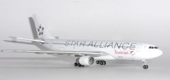 Airbus A330-200 Austrian Airlines Star Alliance  Model Scale 1:400 JC4AUA231 E